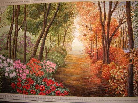 Painting 4 Seasons by Wall Painting Four Seasons Dacesaulite Lv