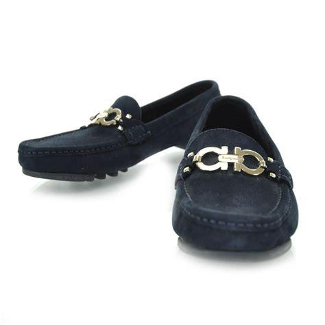 salvatore ferragamo suede loafers salvatore ferragamo suede loafers 5 5 black 29137