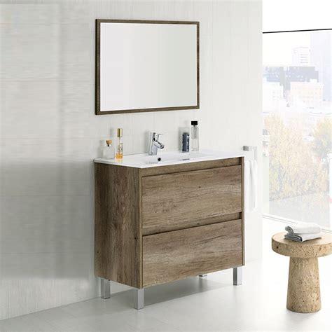 mueble para lavabo mueble lavabo de 80 cms nordik