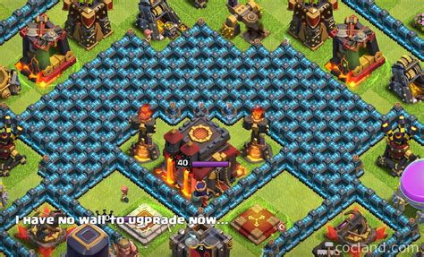 all clash of clans wall upgrades level 10 walls clash of clans www imgkid com the image