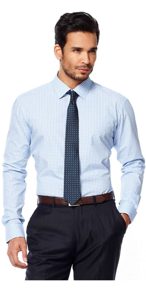 light blue shirt with tie best 25 blue gingham shirts ideas on