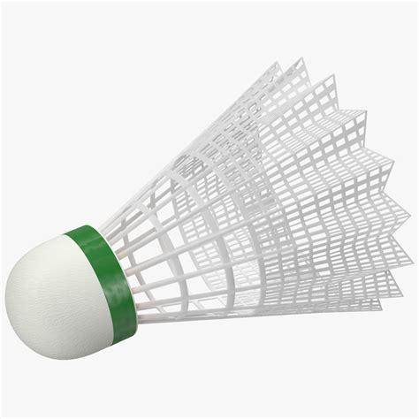 Suttlecocks Badminton Isi 12 Murah Kok Bulu Tangkis Limited shuttlecock 2 3d model