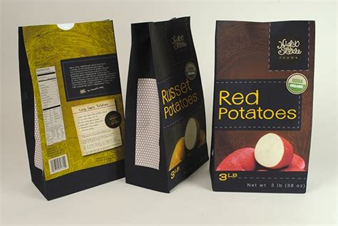 potato brand packaging project on behance