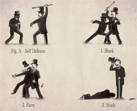 self defence the gentleman s self defence guide