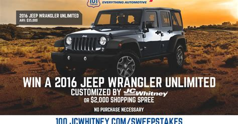 jc jeep wrangler parts mommytasking enter to win a 2016 jeep wrangler from jc