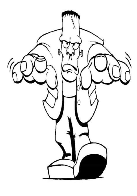 frankenstein coloring pages free frankenstein coloring pages sketch coloring page