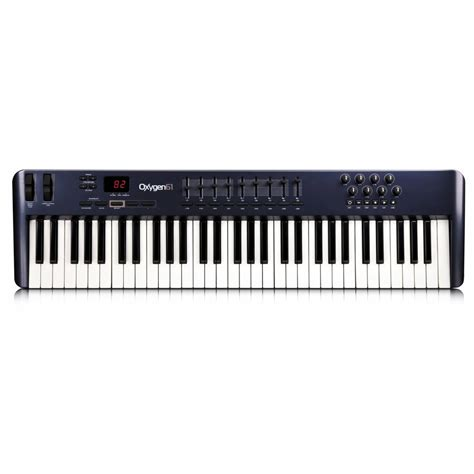 Keyboard M Audio m audio oxygen 61 v3 usb midi keyboard midi keyboard from inta audio uk