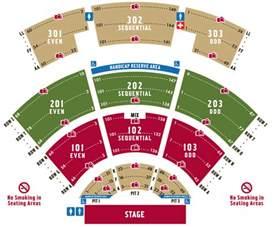 Bb T Center Floor Plan seating chart st augustine amphitheatre