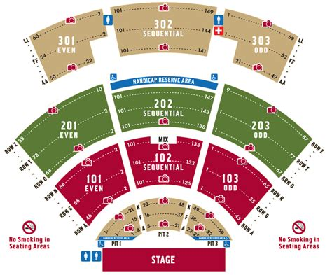 molson hitheatre floor plan pompano beach amphitheatre bi double you