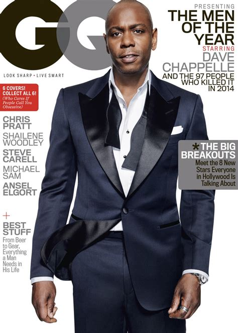 Sweater Steve Angelo dave chappelle covers gq of the year issue