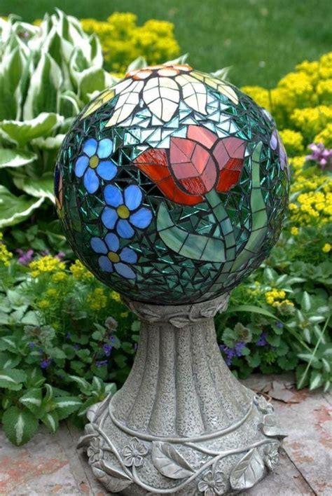 Garten Deko Mosaik by Bsateln Mosaik Deko Kugel Gartenideen Garten Ideen