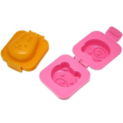 rabbit and egg rice cake mold cetakan telur orange jakartanotebook