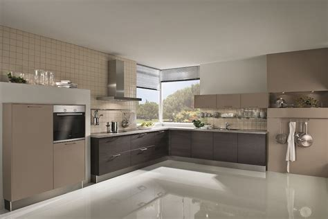 Kitchens With Island by Matt Cashmere Laminate Kitchen