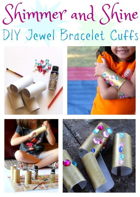 costumes diy crafts ideas signs shimmer and shine diy bracelet cuffs