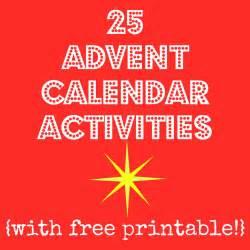 See christmas advent calendar activities printable advent calendar