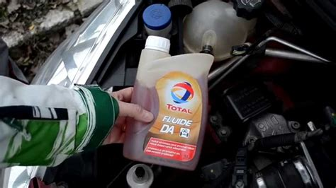 weekly checks ep  power steering fluid level peugeot