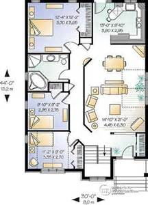 Open Concept Floor Plans Bungalow House Plan W3313 Detail From Drummondhouseplans