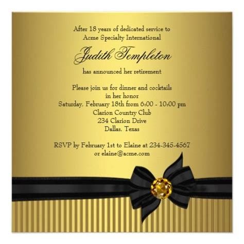 retirement party invitations templates retirement party invitation