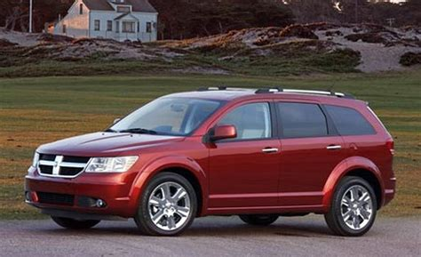 a dodge journey car and driver