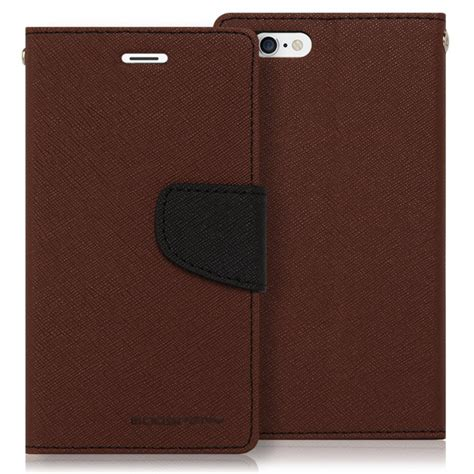 Sarung Mercury Fancy Diary Iphone 7 Plus 55 Inch Coklat mercury obal fancy diary iphone 5 5s 5se brown black