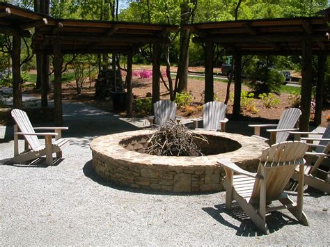 Firepit Plans Cinder Block Pit Safe Pit Design Ideas
