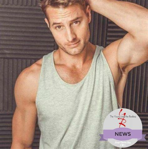 young and the restless star justin hartley to adam newman the young and the restless news this is us star justin