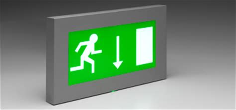 Lu Emergency Exit By Riory light and luminaire range for the intelligent