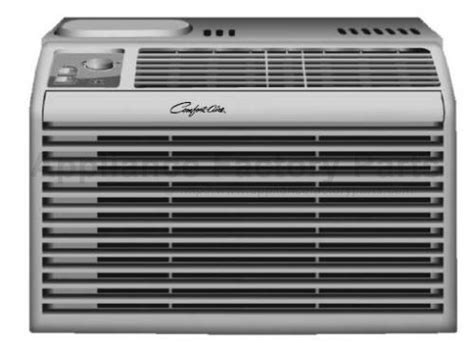 Appliance Comfort Air by Parts For Rg 51 5 Comfort Aire Air Conditioners