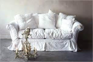 shabby chic slipcovers for your sofa interior fans