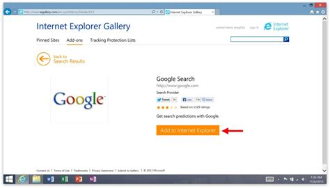 On Search How To Change The Default Search Engine On The Microsoft Surface
