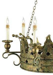 Crown Chandelier Currey And Company 9547 Crown Six Light Chandelier
