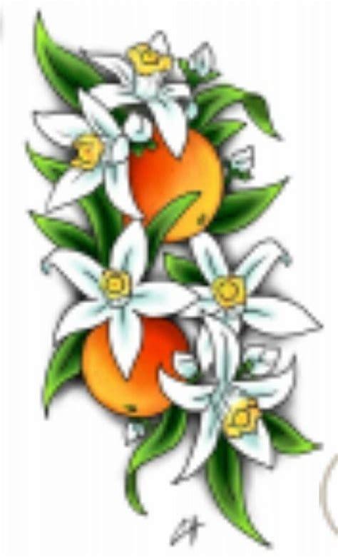 orange blossom tattoo the world s catalog of ideas