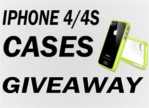Iphone 4 Giveaway - giveaway sgp linear cases iphone 4 4s