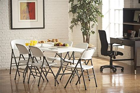 cosco 6 centerfold cosco products centerfold folding table 6 feet white