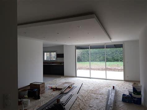 Spot Plafond Salon by Faux Plafond Salon Avec Spot