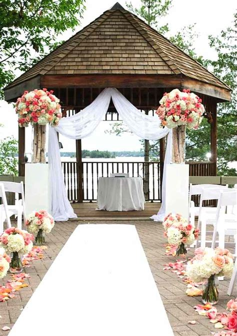 wedding gazebo applying tale wedding in your gazebo decoration