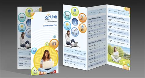 two fold brochure design and printing for internet