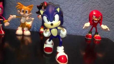 x y figures sonic x megabot figure series review