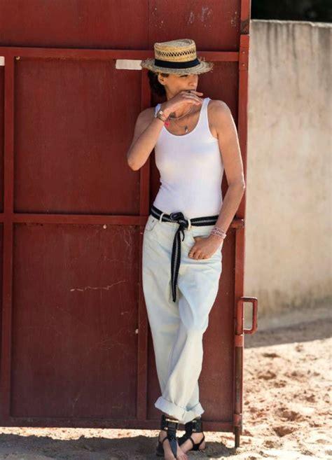 Fashion Model Ines De La Fressange Elle France