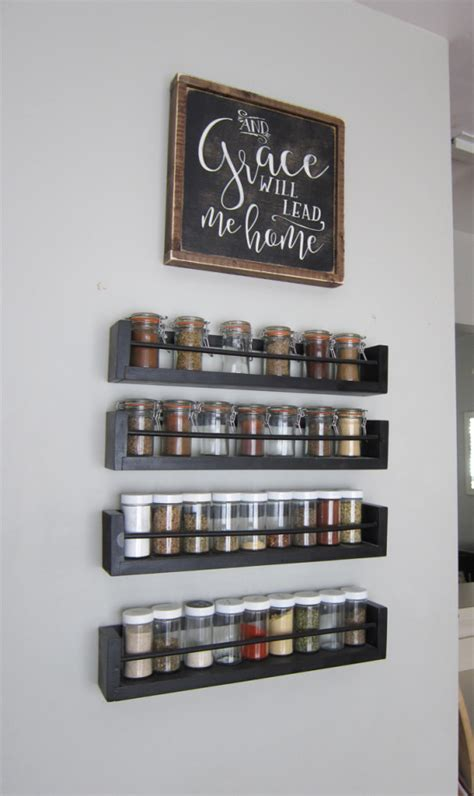 Wall Spice Rack Organizer Small Changes Big Impact The Honeycomb Home