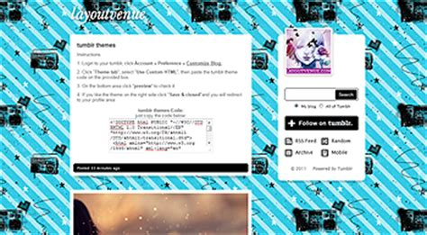 themes music player tumblr tumblr themes music tumblr themes tumblr layouts