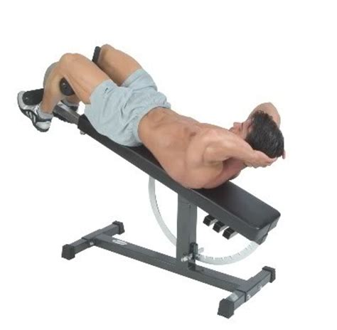 bench for crunches how to work upper abs to get toned abs fast