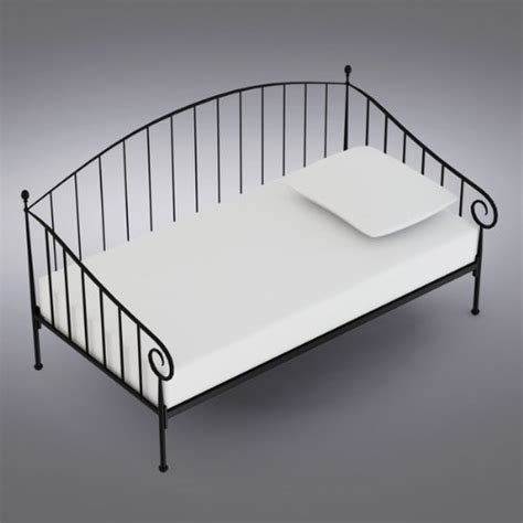 Metal Daybed Frame Brand Matt Black Metal Size Day Bed Daybed Frame With Metal Slats Desertcart