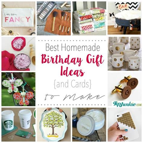 How To Make Handmade Gifts For Birthday - best birthday gift ideas and cards to make