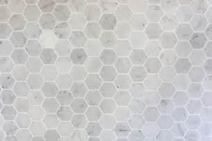 Grouting Kitchen Backsplash how to install a marble hexagon tile backsplash just a