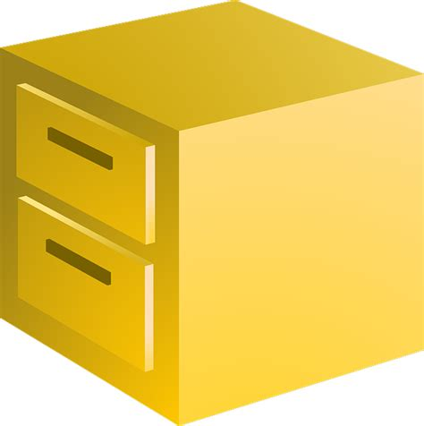 Free illustration: Filing Cabinet, Files, Cabinet   Free