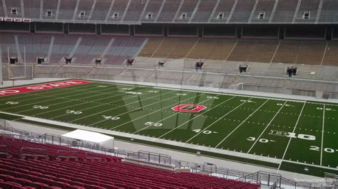 section 23a ohio stadium section 23a rateyourseats com
