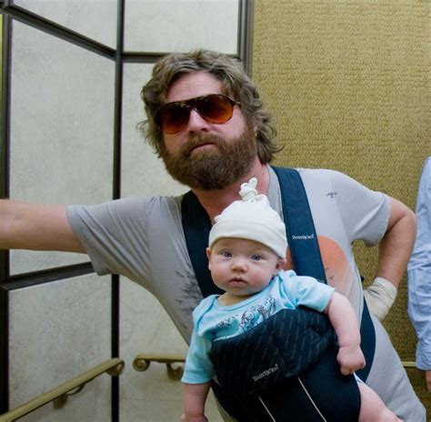 zach galifianakis on ellen twinedog how to be a good quot alan quot in the hangover for
