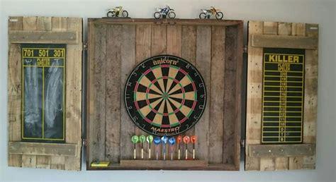 pallet dartboard cabinet pallet projects pinterest