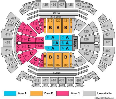 Toyota Center Seating Toyota Center Tickets In Houston Toyota Center